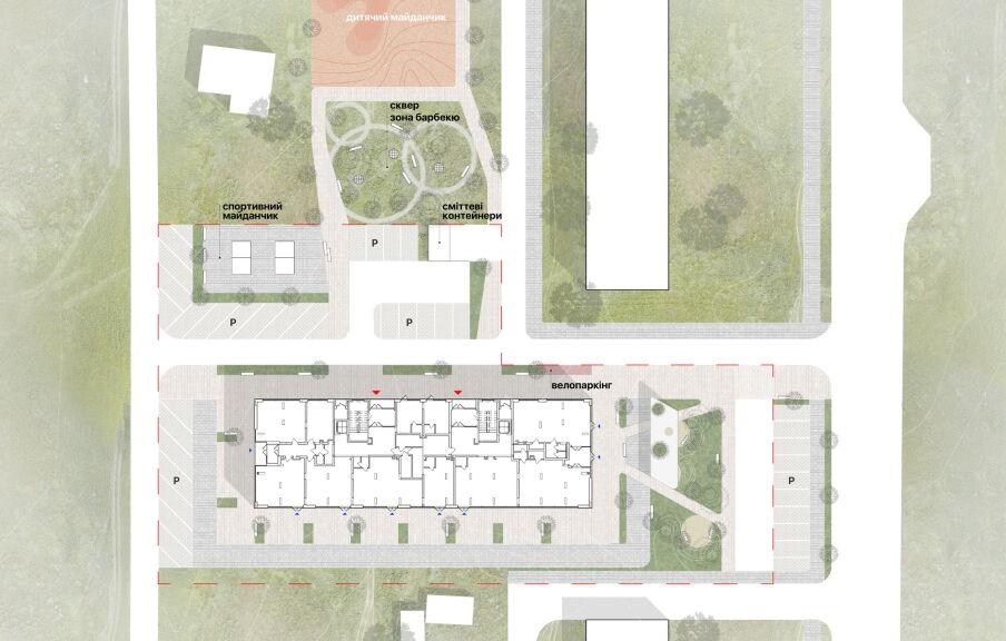Схема расположения жилого комплекса