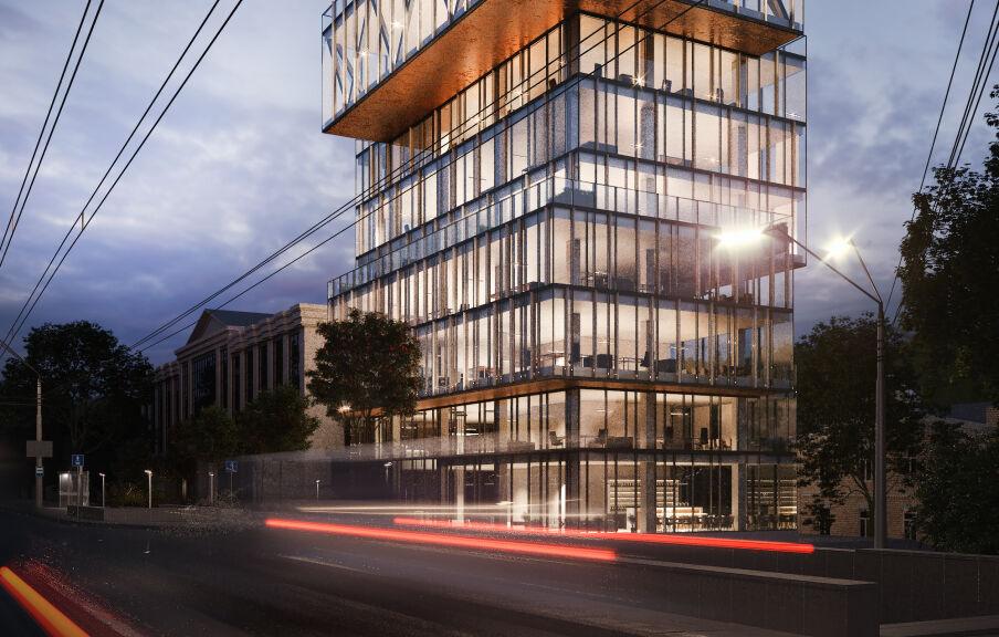 Проектирование бизнес центров, офисов и административных зданий в Киеве и Украине