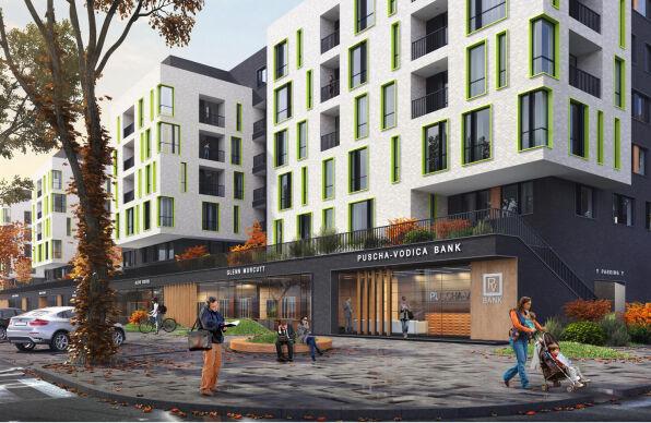 Проектирование жилого комплекса в Пуще-Водице