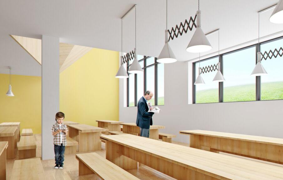 Разработка интерьера помещений школы