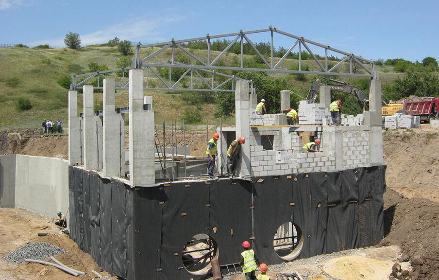 Строительство в обводненных грунтах