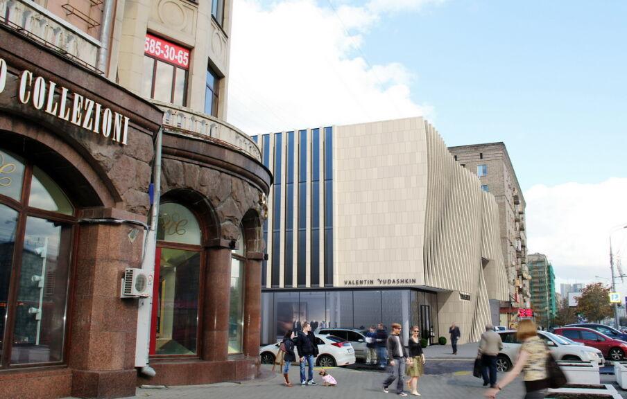 Проект фасада бутик-отеля