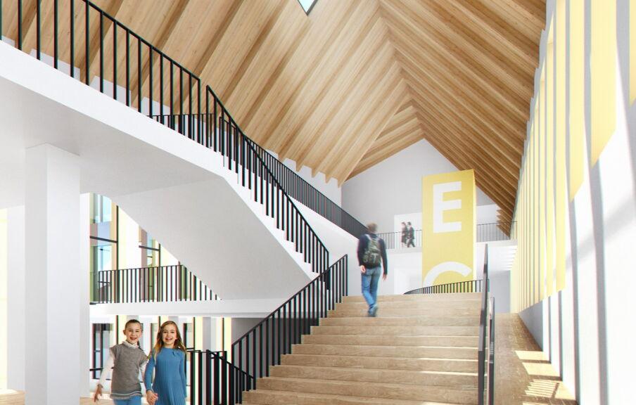 Дизайн интерьера школы