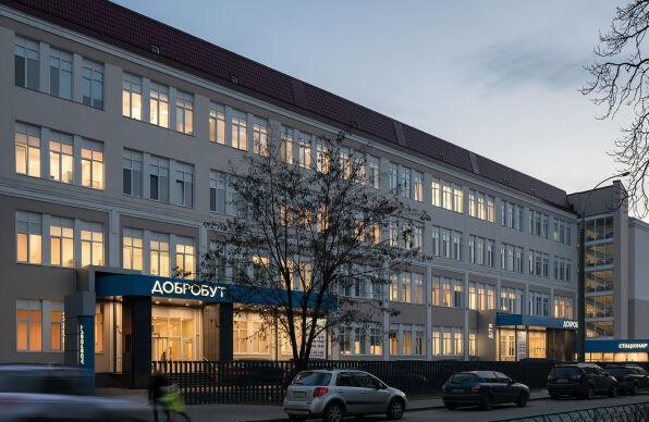 Строительство медицинских центров в Киеве