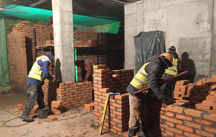 Строительство лечебно-диагностического центра в Киеве