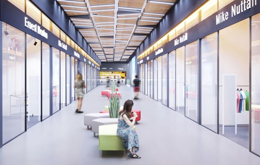 Дизайн интерьера бутиков