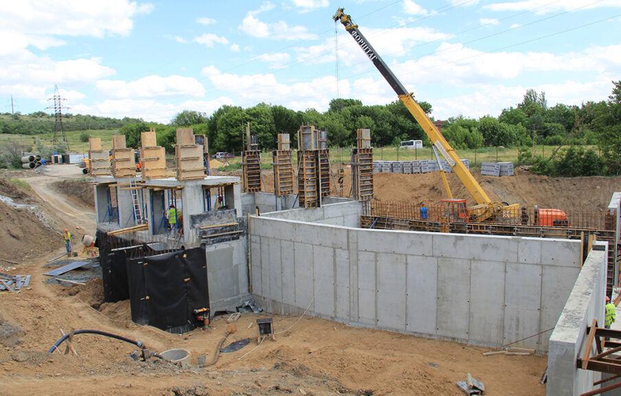 Строительство сооружений