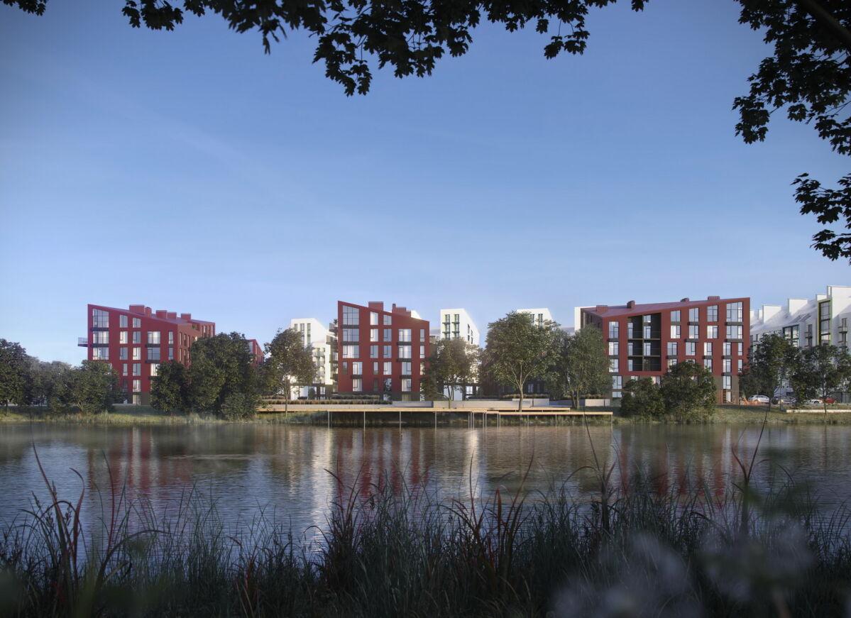Проектирование жилых кварталов в Киевской области