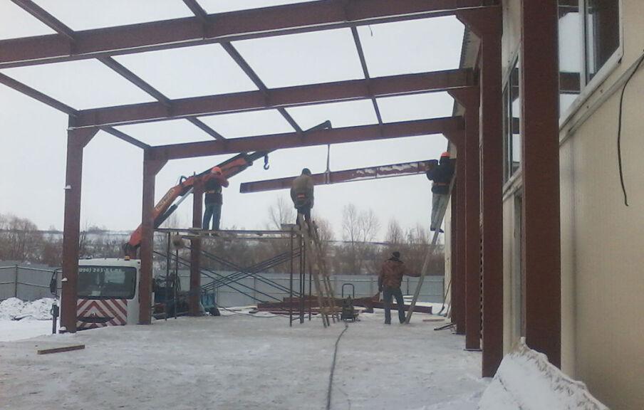 Реконструкция фабрики