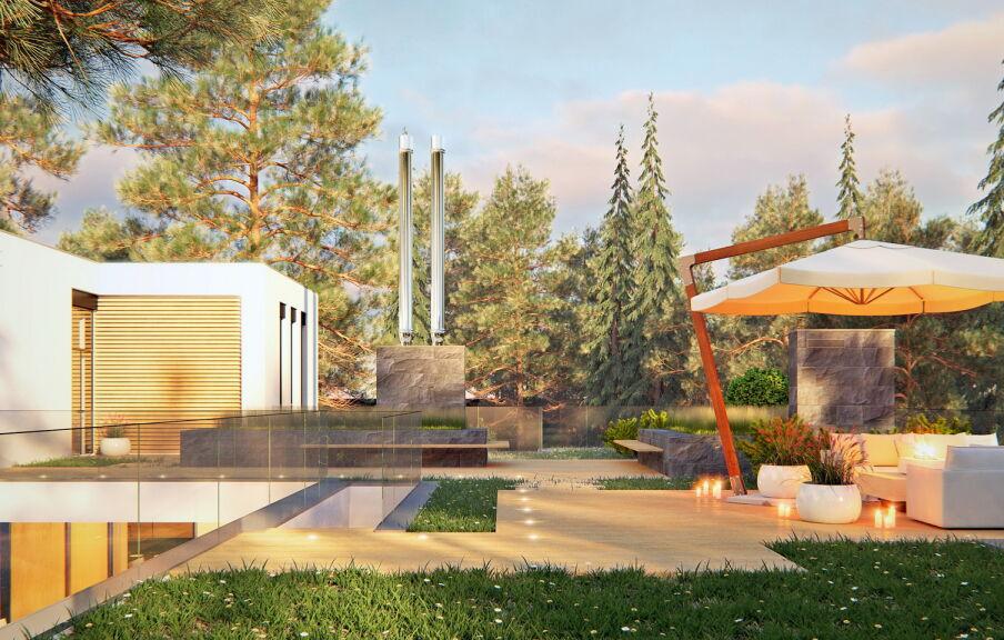 Проект частного дома в Лебедевке