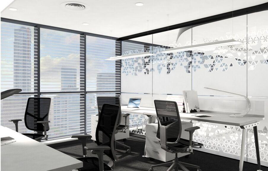 Проект дизайн интерьера офиса