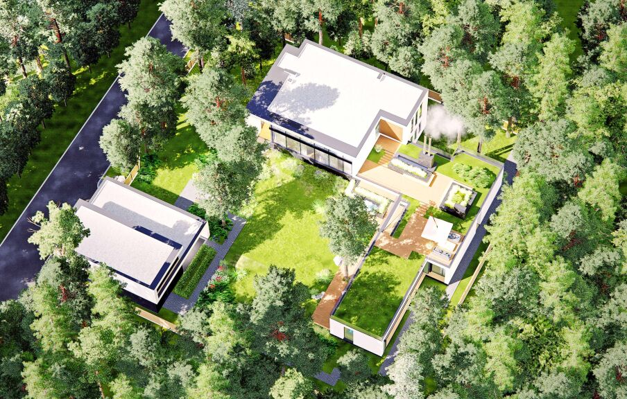 Концепция реконструкции загородного дома