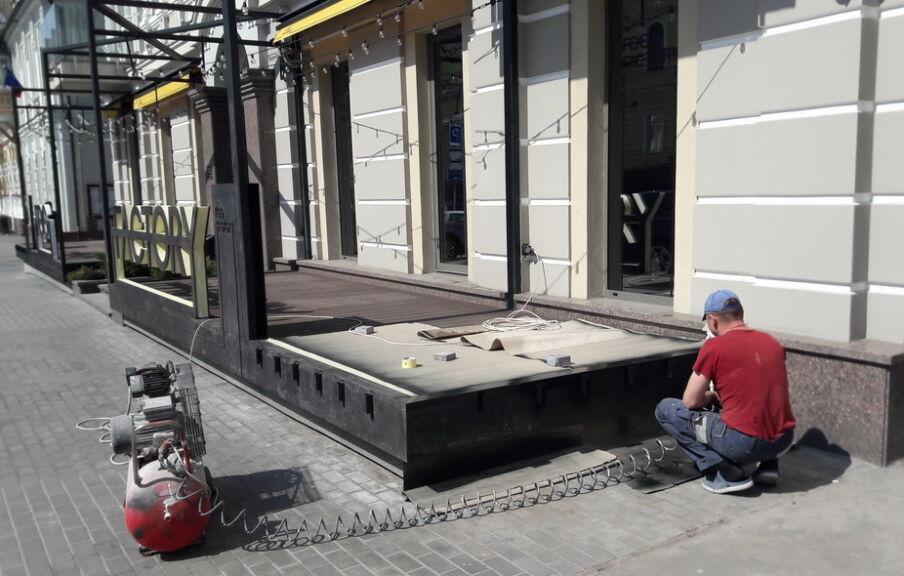 Строительство ресторана в Киеве