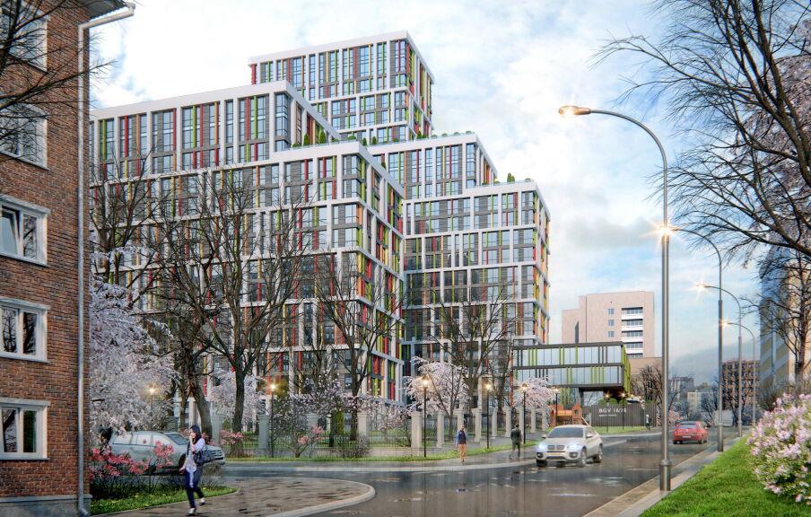 Проектирование жилого комплекса в Киеве
