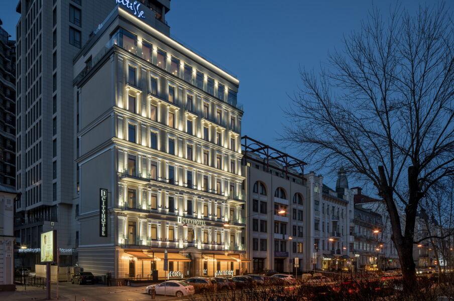 Реконструкция гостиницы CITYHOTEL в г. Киеве от строительной группы МОДУС