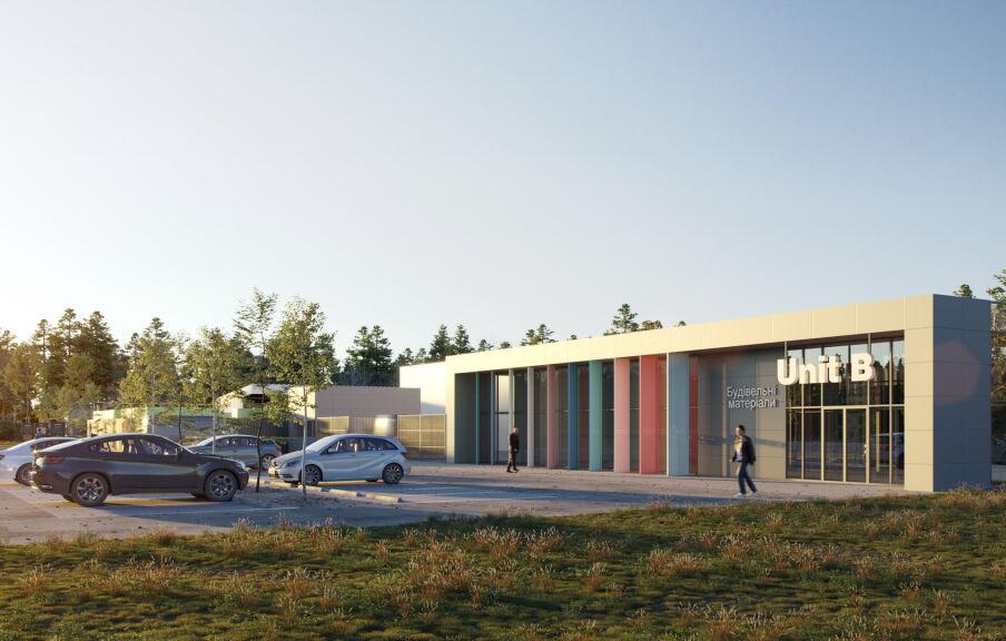 Проектирование склада в Киевской области