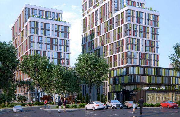 Проектирования жилого комплекса Киев