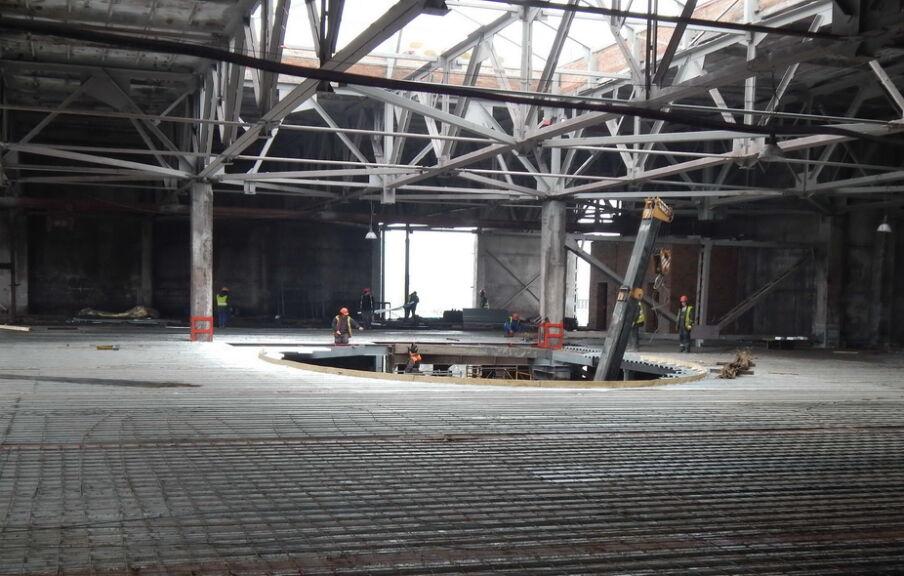 Реконструкция торгового центра