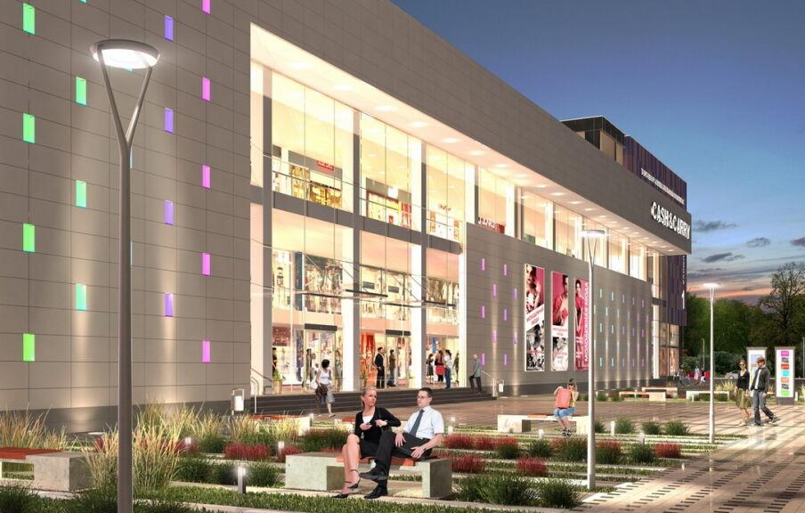 Планирование реконструкции проекта торгово-развлекательного центра