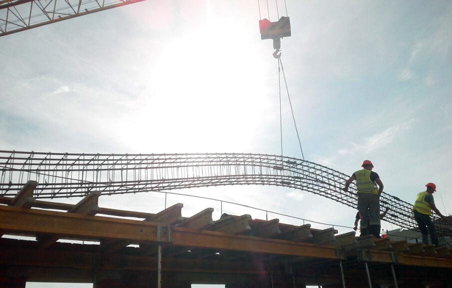 Усиление фундаментов и несущих конструкций здания