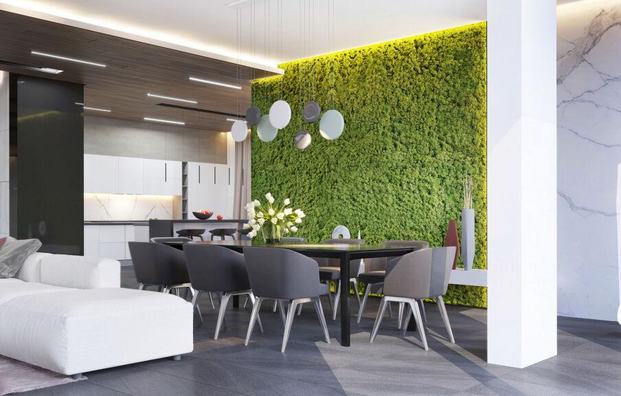 Современный дизайн интерьера частного дома