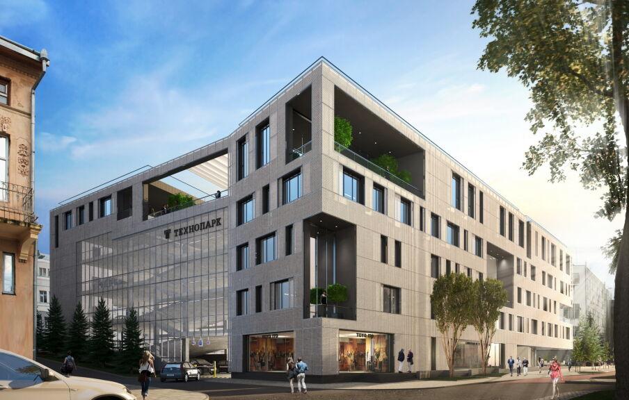 Проект МФК комплекса с паркингом