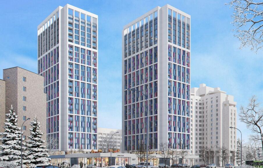 Проект здания жилого комплекса