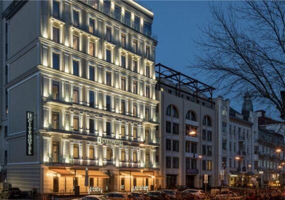 Реконструкция гостиницы в Киеве