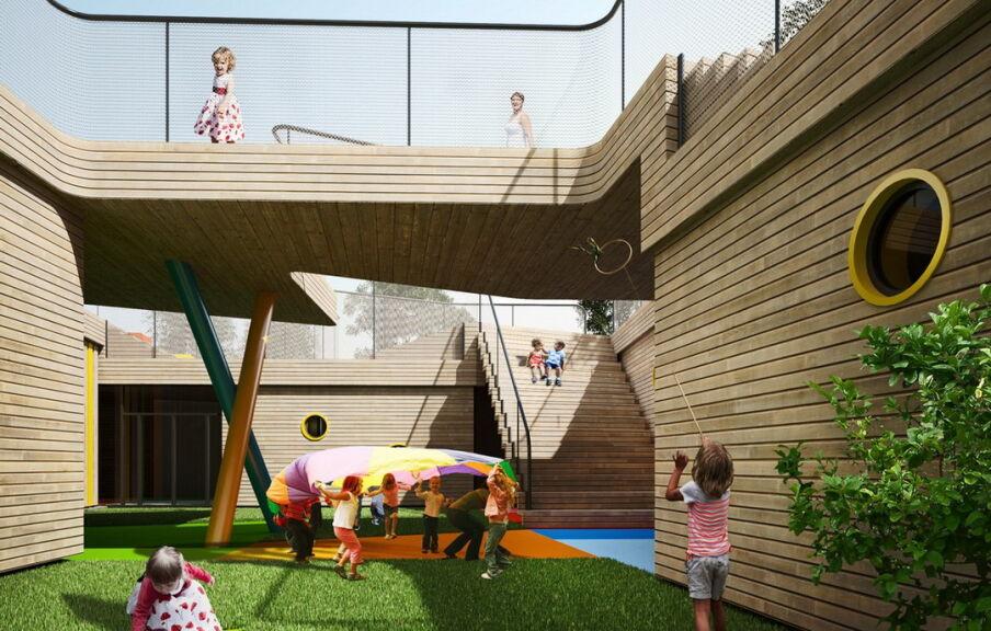 Проект частного детского сада