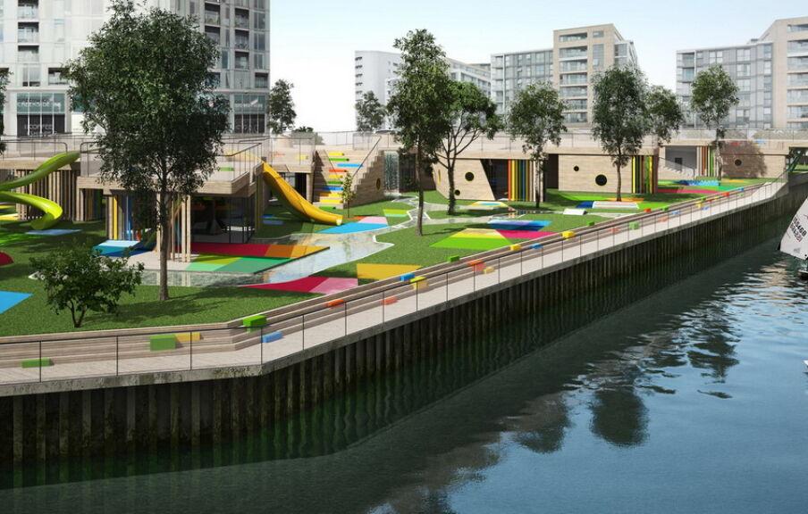 Проектирование детского сада