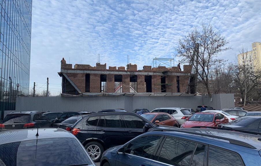 Ход строительства офиса
