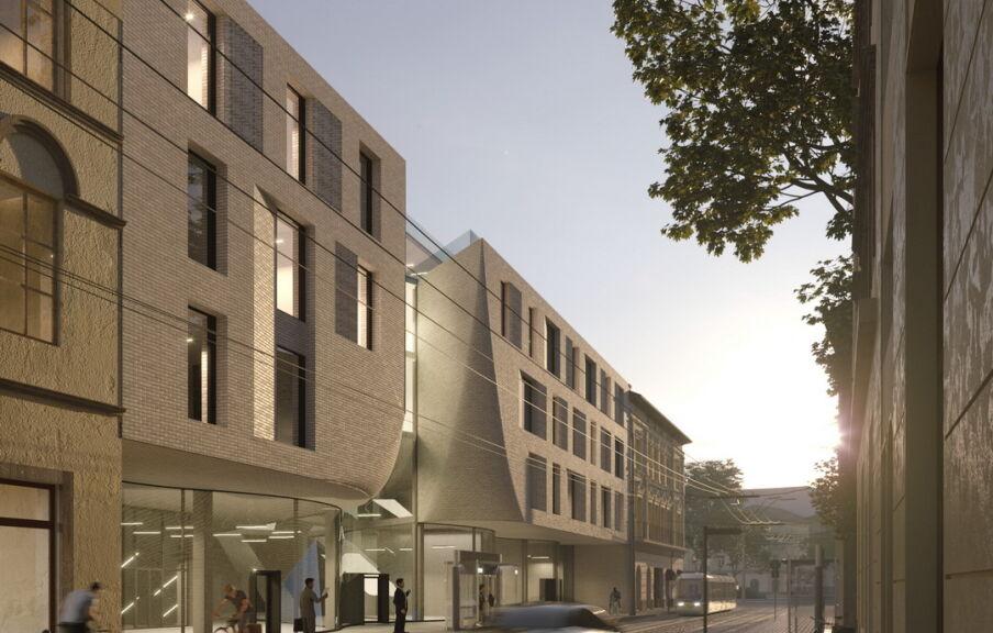 Проект отеля во Львове