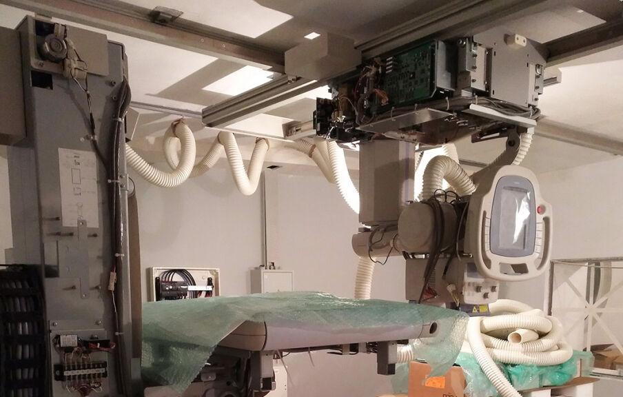 Реконструкция центра диагностики