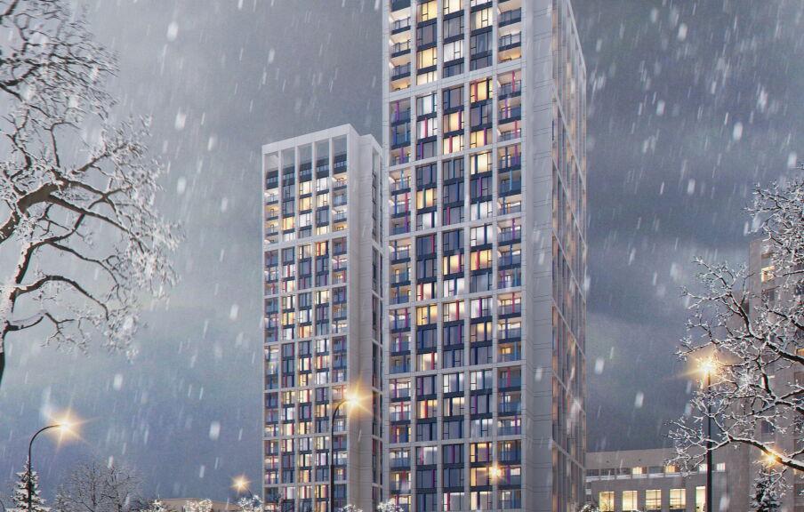 Проектирование жилого комплекса Киев
