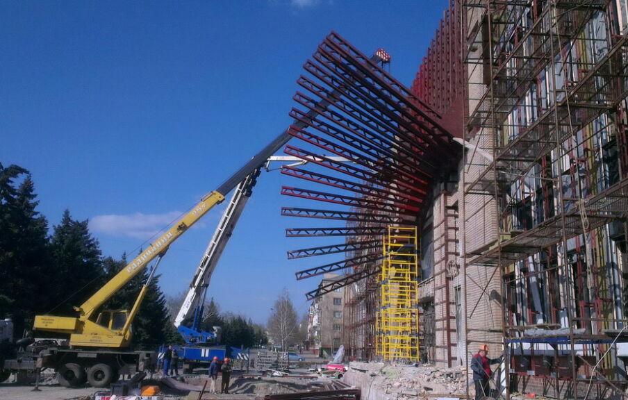 Строительство концертного зала