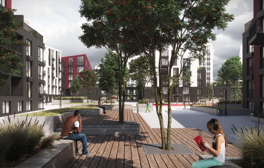 Концепция территории жилого квартала