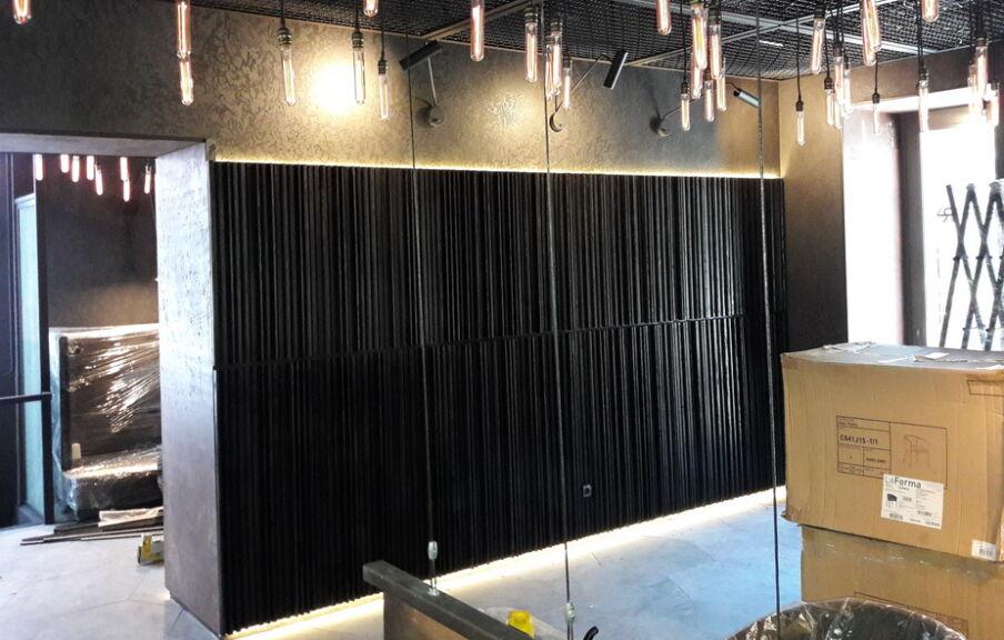 Строительство ресторана в рамках генерального подряда