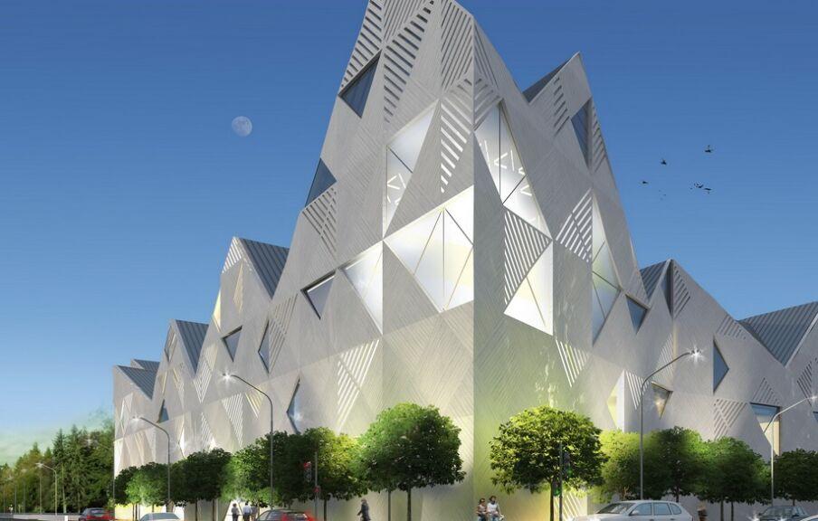 3d визуализация музея