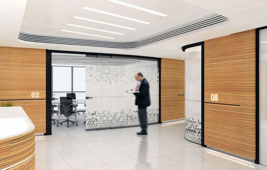 Услуга разработки дизайн проекта интерьера офиса