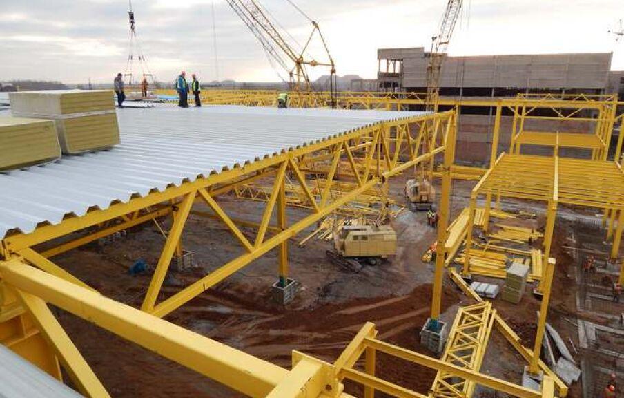 Реконструкция складского комплекса