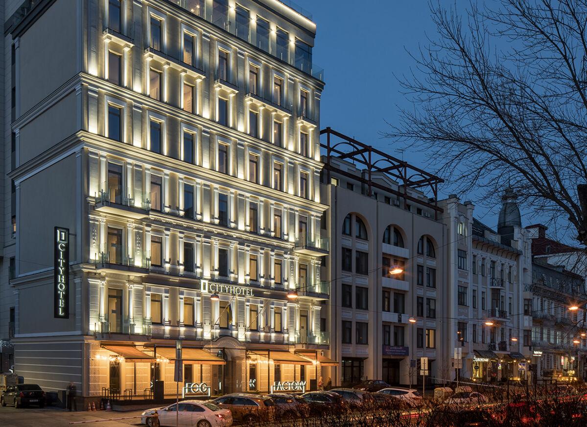 Реконструкция здания гостиницы