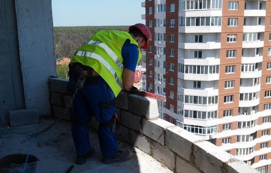 Строительство жилого комплекса в Броварах