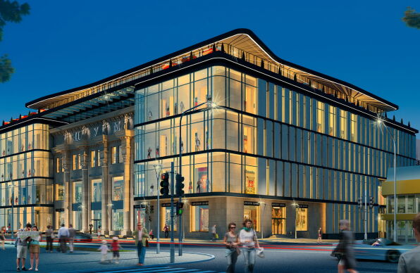 Реконструкция торгово-развлекательных комплексов